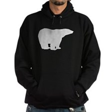 Grey Polar Bear Hoodie