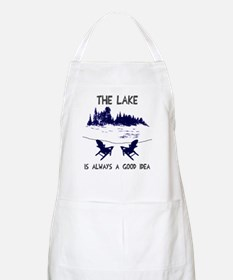 The lake is always a good idea Apron