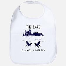 The lake is always a good idea Bib