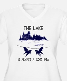 The lake is alway T-Shirt