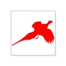 Red Pheasant Sticker