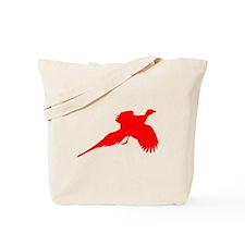 Red Pheasant Tote Bag