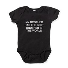 My brother best brother Baby Bodysuit