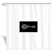 Funny Mandolin Shower Curtain