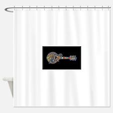 Funny Mandolin Shower Curtain