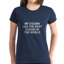 My cousin has best cousin Tee