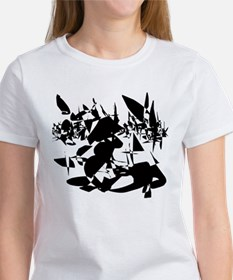 Horse Resting in Butterfly Fi Tee