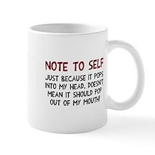 Note to self Mug