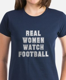 Real women watch football Tee