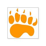 Bear claw Bumper Stickers