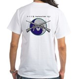 1 115th 29th division Mens White T-shirts