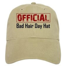 Official Bad Hair Day Baseball Cap