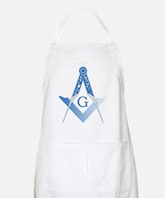 Masonic Square and Compass Apron