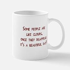 Some people clouds Mug