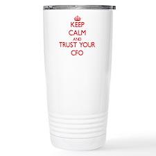 Cute Office keep calm Travel Mug