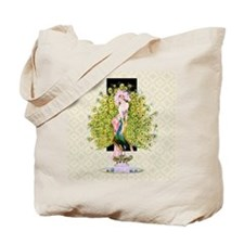 Peacock, Flapper Rivals Tote Bag