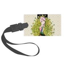 Peacock, Flapper Rivals Luggage Tag
