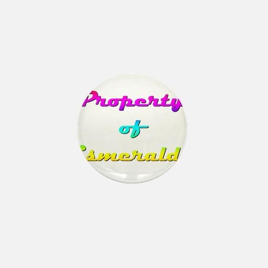 Property Of Esmeralda Female Mini Button