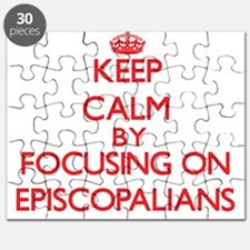 Keep Calm by focusing on EPISCOPALIANS Puzzle