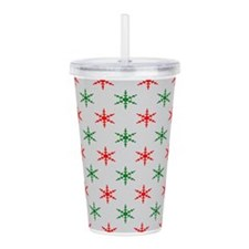 Cute Christmas pattern Acrylic Double-wall Tumbler