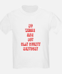 CLAY COUNTY KY T-Shirt