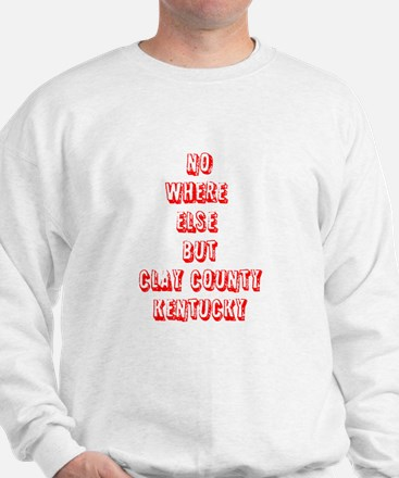CLAY COUNTY KY Sweatshirt
