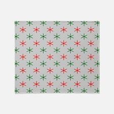 Cute Christmas pattern Throw Blanket
