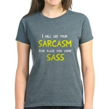 Sarcasm and Sass Tee