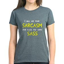 Sarcasm and Sass Tee