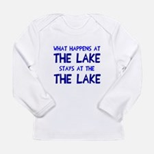 Happens at lake stays Long Sleeve Infant T-Shirt