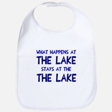 Happens at lake stays Bib