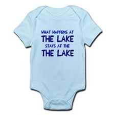 Happens at lake stays Infant Bodysuit