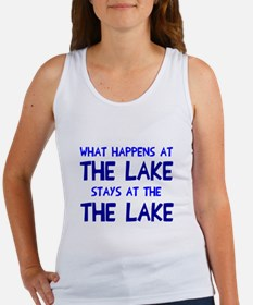 Happens at lake stays Women's Tank Top