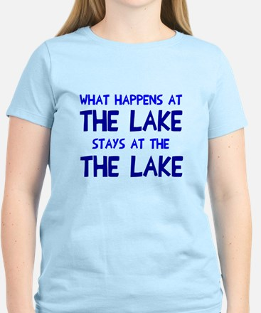 Happens at lake stays Women's Light T-Shirt