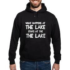 Happens at lake stays Hoodie