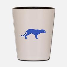 Blue Panther Shot Glass
