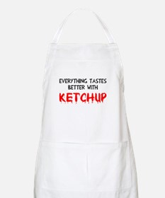 Everything better ketchup Apron
