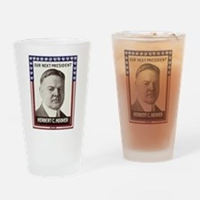 1928 Hoover - Our Next President Drinking Glass
