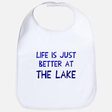 Life is just better lake Bib
