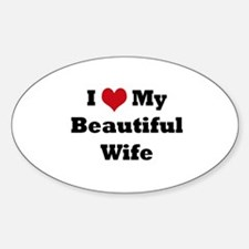 Cute Window Sticker (Oval)
