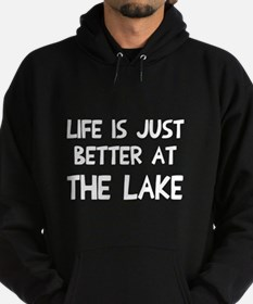 Life is just better lake Hoodie (dark)