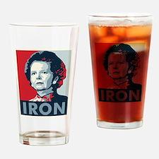Margaret Thatcher Drinking Glass