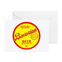 Bavarian Beer-1943 Greeting Cards (Pk of 10)
