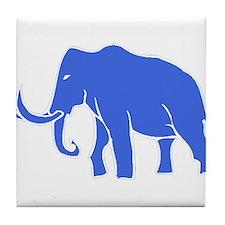 Blue Mammoth Tile Coaster