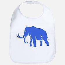 Blue Mammoth Bib