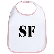 SF White Bib