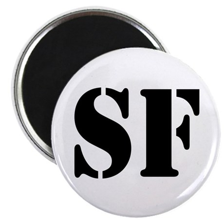SF White Magnet
