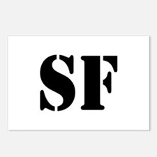 SF White Postcards (Package of 8)