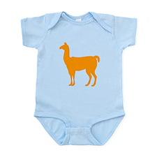 Orange Llama Body Suit
