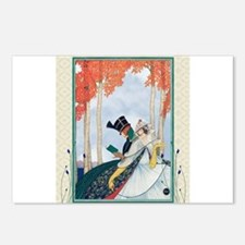 Plank Art Deco Lovers Postcards (Package of 8)